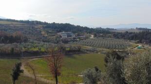 Ferme bio, en Toscane, à Rocca d'Orcia.