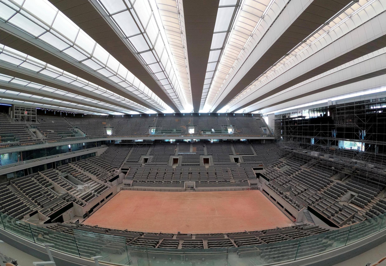 Le court Philippe-Chatrier de Roland-Garros.