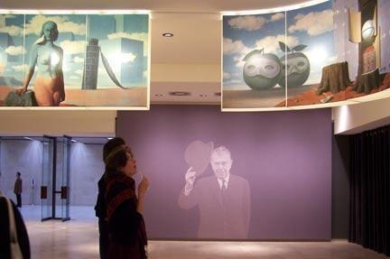 Viện bảo tàng Magritte tại thủ đô Bruxelles, Bỉ