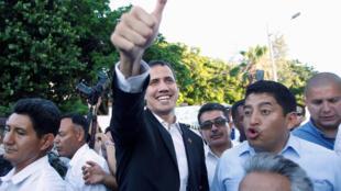 Jagoran adawar Venezuela da ya ayyana kansa a matsayin sabon shugaban kasa Juan Guido