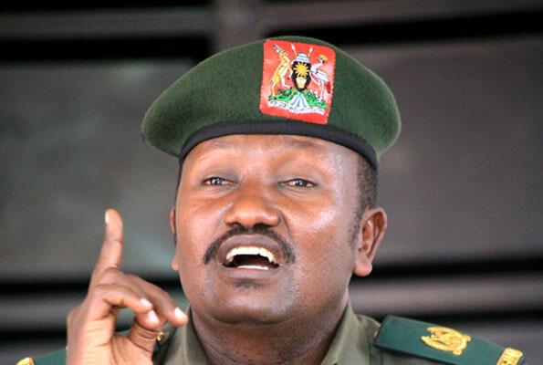 msemaji wa jeshi la Uganda Felix Kulayigye