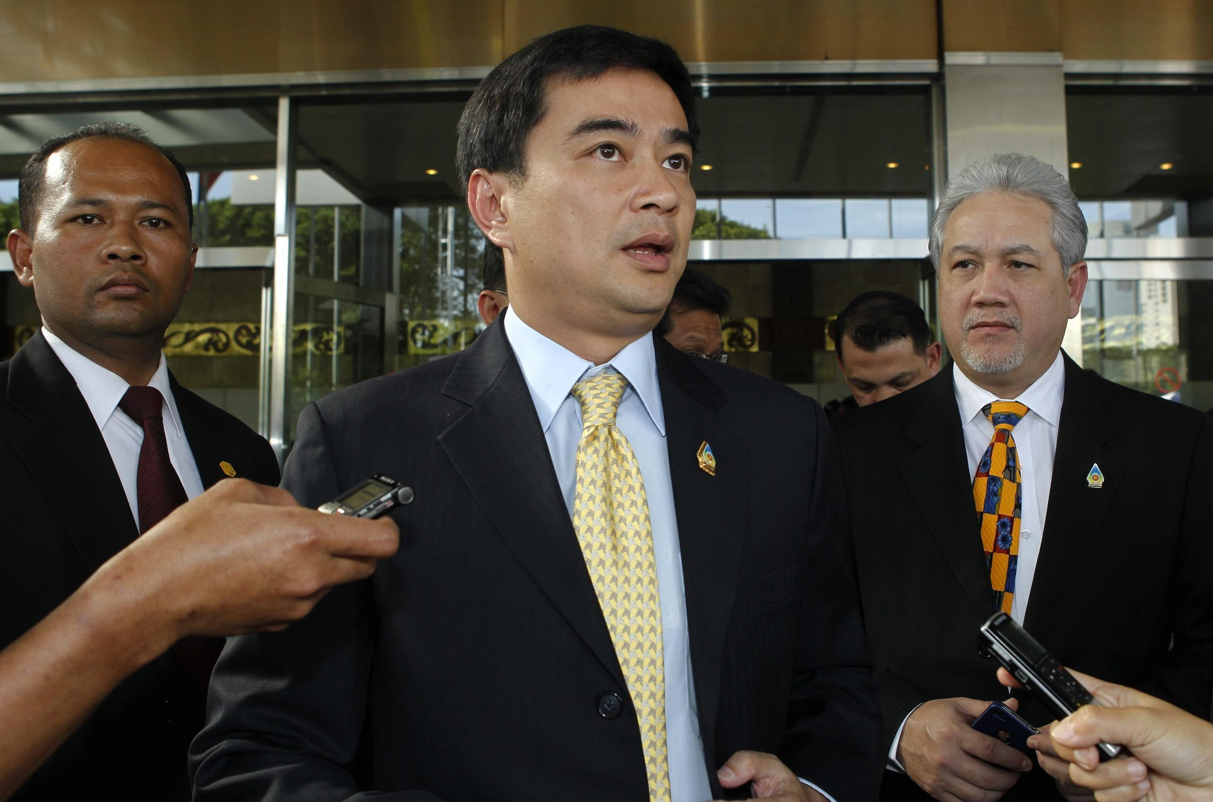 Thailand's Prime Minister Abhisit Vejjajiva has announced general elections on 3 July