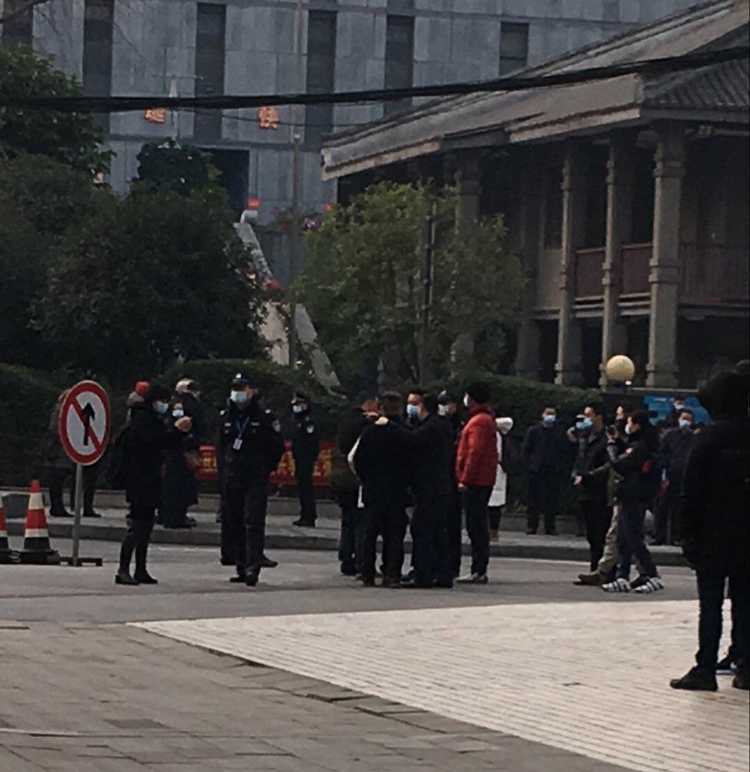 Chine audition avocat