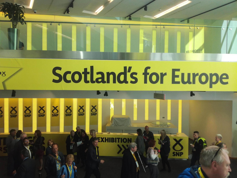 SNP Spring conference in Scotland, April 2019