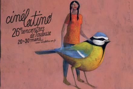 Cartaz do Festival de Toulouse que promove sua 26ª edição em 2014.