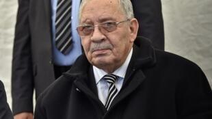 احمد قائد صالح رئیس ستاد مشترک ارتش الجزایر