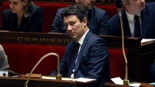 L'ex-candidat Benjamin Griveaux, à l'Assemblée nationale, le 13 mars 2019.