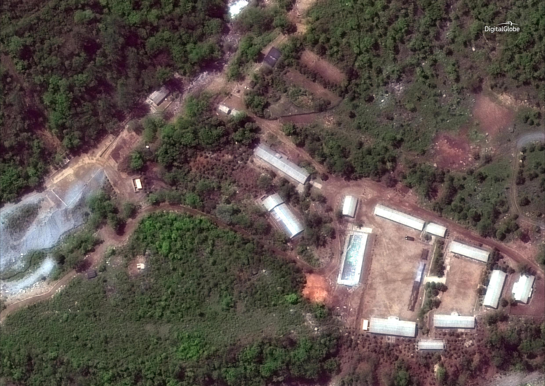 Полигон КНДР для ядерных испытаний «Пхунгери»