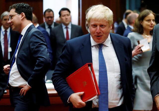 Waziri wa mamno ya Nje wa Uingereza Boris Johnson.