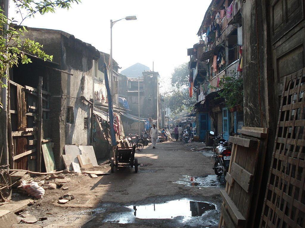 A lane in Kamathipura, a red light district in Mumbai.