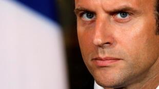 Emmanuel Macron, le 31 août 2017.