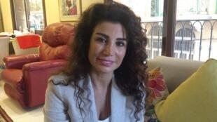 Joumana Haddad, journaliste, écrivaine et militante pour les droits des femmes au Liban.