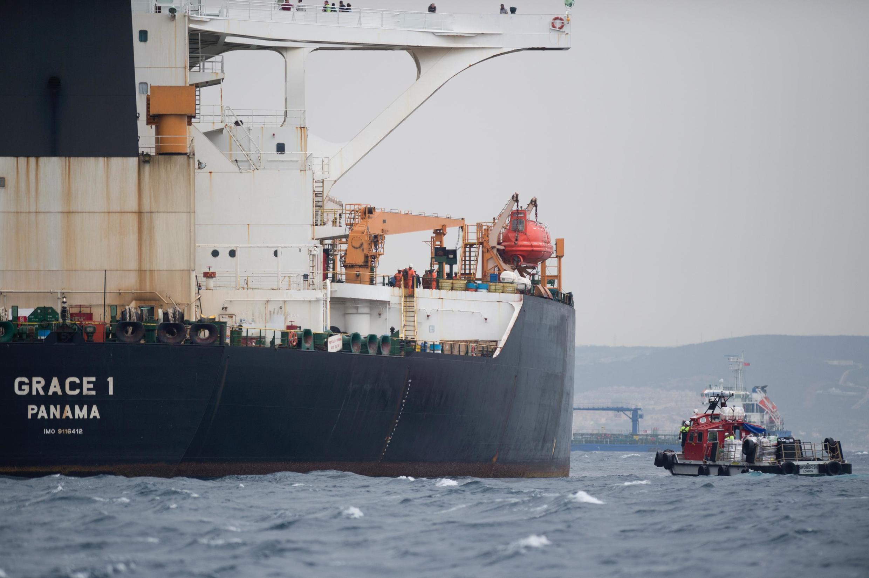 O petroleiro iraniano Grace 1 foi interceptado em Gilbratar pelos britânicos