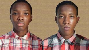 Les frères Anesi et Osine Ikhianosime, 13 et 15 ans, développeurs et concepteur du navigateur internet  «Crocodile browser».