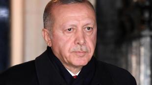 Le président turc Tayyip Erdogan, le 3 décembre 2019 (image d'illustration).