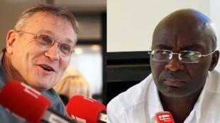 Rony Brauman et Achille Mbembe.