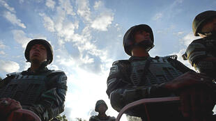 Miembros de la Guardia Nacional Bolivariana.