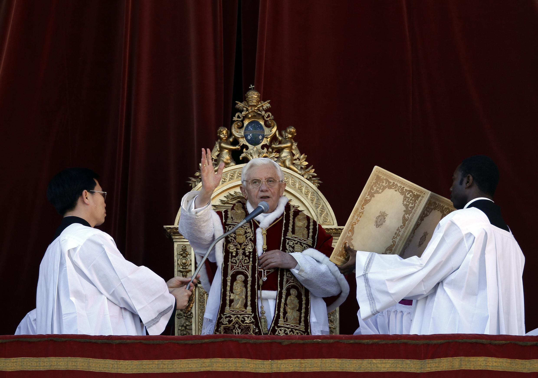 Папа Римский Бенедикт XVI, Ватикан, 25 декабря 2011 года
