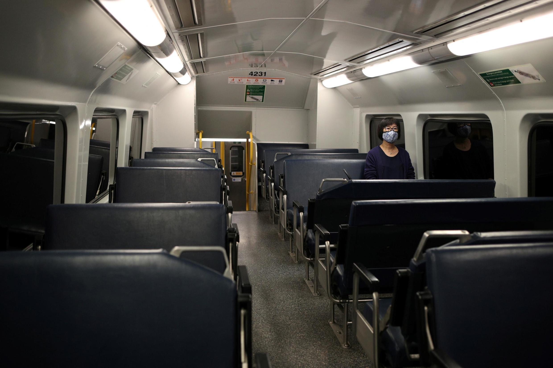 L'isolement social, à Sydney en Australie, au temps du coronavirus.