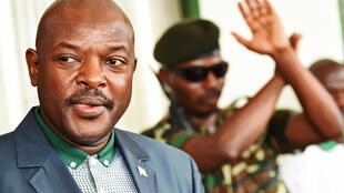 Le président du Burundi, Pierre Nkurunziza, à Bujumbura, le 17 mai 2015.