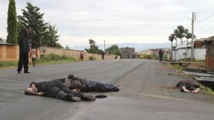 布隆迪兵营袭击事件后首都40多具不明死者陈尸街头