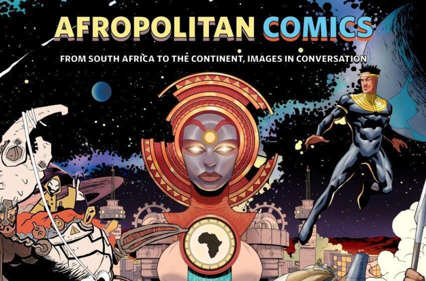 Afropolitan, Africa, Comics, Art, Exhibition, Bande dessinée, Angoulême