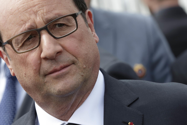 French President Francois Hollande on Thursday before leaving for the Caribbean