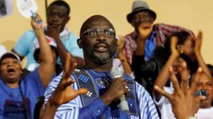 Dan takarar shugabanci Liberia George Weah