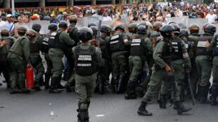 Zanga Zangar adawa da Gwamnatin Maduro ta karade Caracas