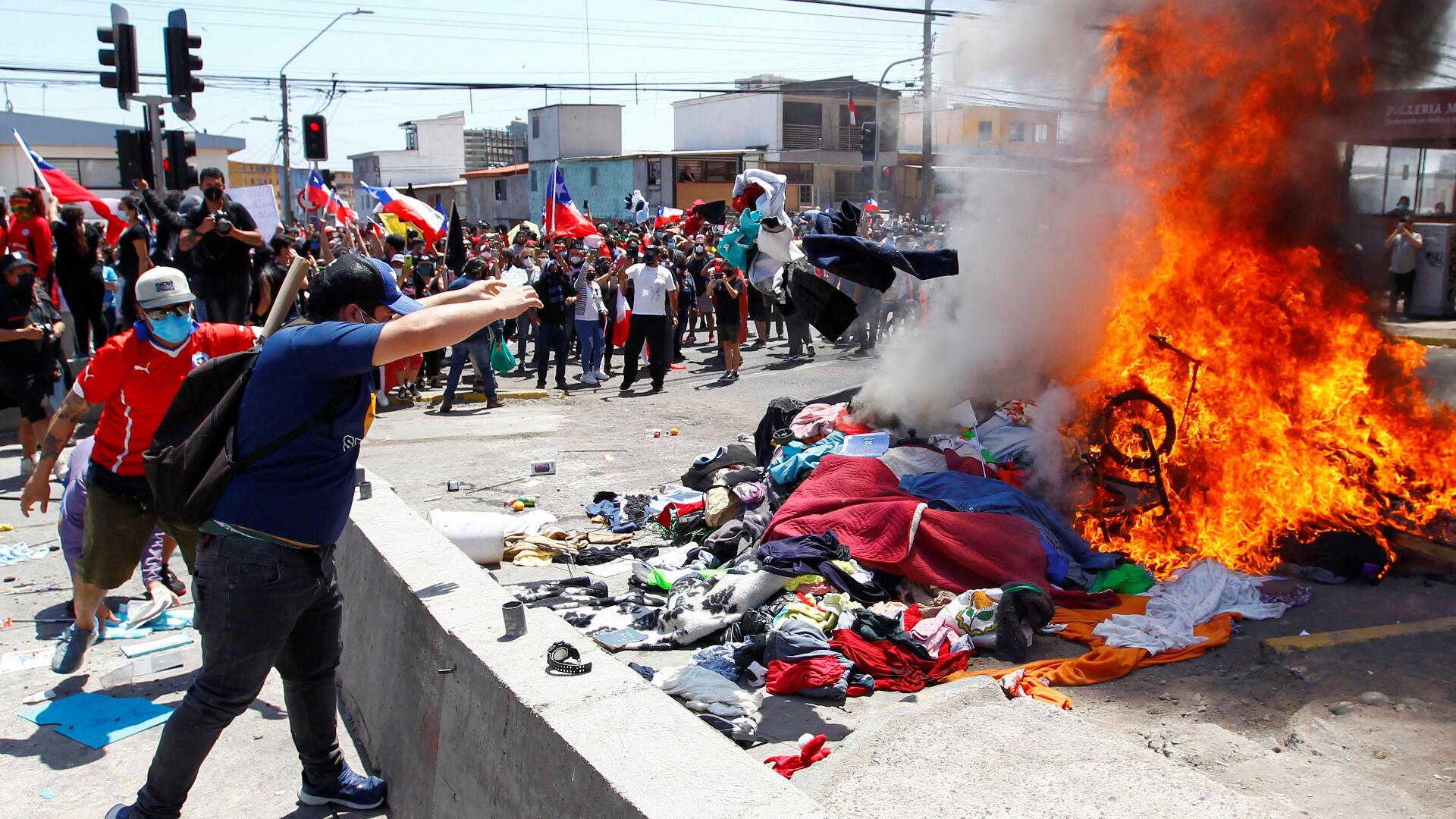 Chili-manifestation-anti-migrants-26-sep-2021