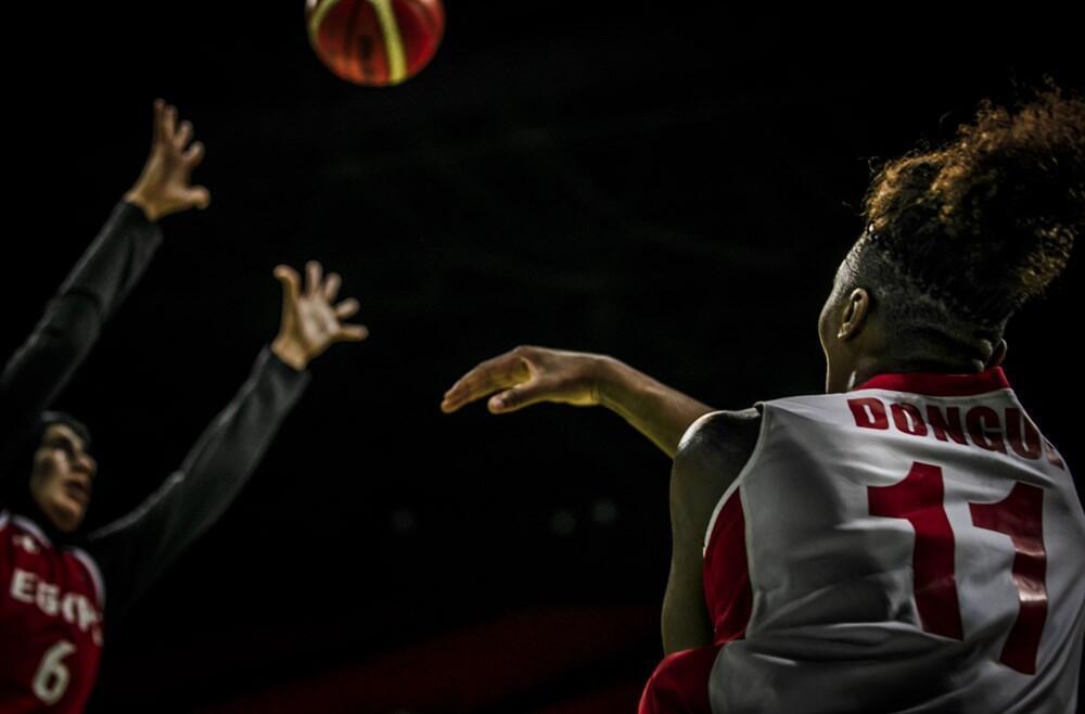 Selecção feminina moçambicana enfrentou a selecção do Egipto nos quartos-de-final no Afrobasket 2019