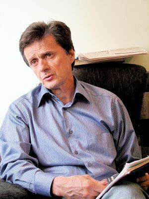 Художественный руководитель балета  Дагестанского театра оперы и балета М.Оздоев.