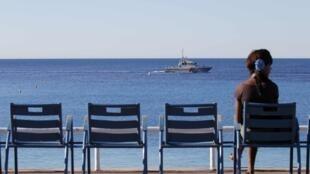 Los turistas han abandonado Niza después del atentado del 14 de julio.