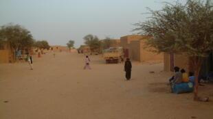 Une rue d'Aguelhok au Mali (photo d'illustration).
