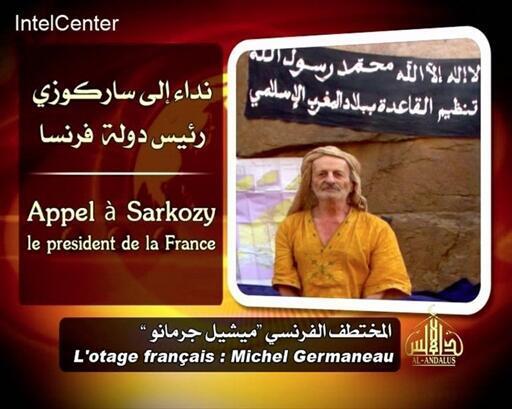 Michel Germaneau, secuestrado en Níger en abril de  2010.