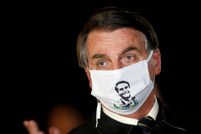 Le président brésilien Bolsonaro, le 22 mai 2020.
