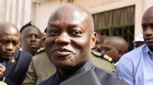 José Mário Vaz, Presidente da Guiné-Bissau. Imagem de arquivo.