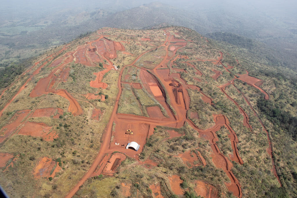 Simandou in south west Guinea is one of the richest untapped sources of iron ore in the world