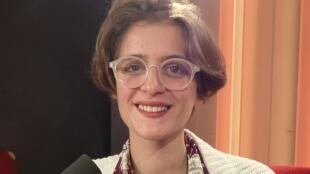 Mathilde Ayoub en los estudios de RFI
