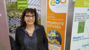 Marie-Pierre Morillon, assistante conseil à l'Ecole supérieure d'agricultures à Angers
