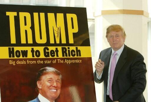 Passé maître dans l'art de l'autopromotion, Donald Trump a publié une vingtaine de livres.