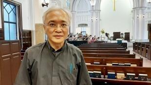 一直关注港人的台湾基督长老教会济南教会牧师黄春生