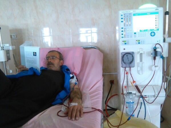 نجیبه صالح زاده می گوید همسرش قبل از بازداشت سال ۹۴ از بیماری کلیه رنج می برده است اما در دوره بازداشت بیماری او شدت پیدا کرد.