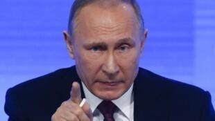 Rais wa Urusi Vladimir Putin aionya Marekani.
