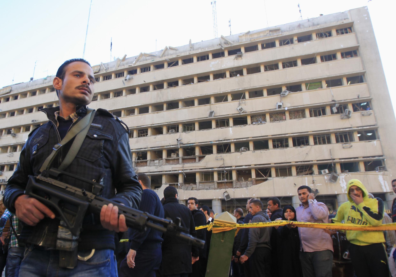 Cairo kỷ niệm 3 năm lật đổ Mubarak vào lúc có 6 người chết trong các vụ khủng bố - REUTERS /Amr Abdallah Dalsh