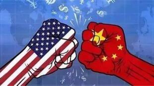 中美贸易战。