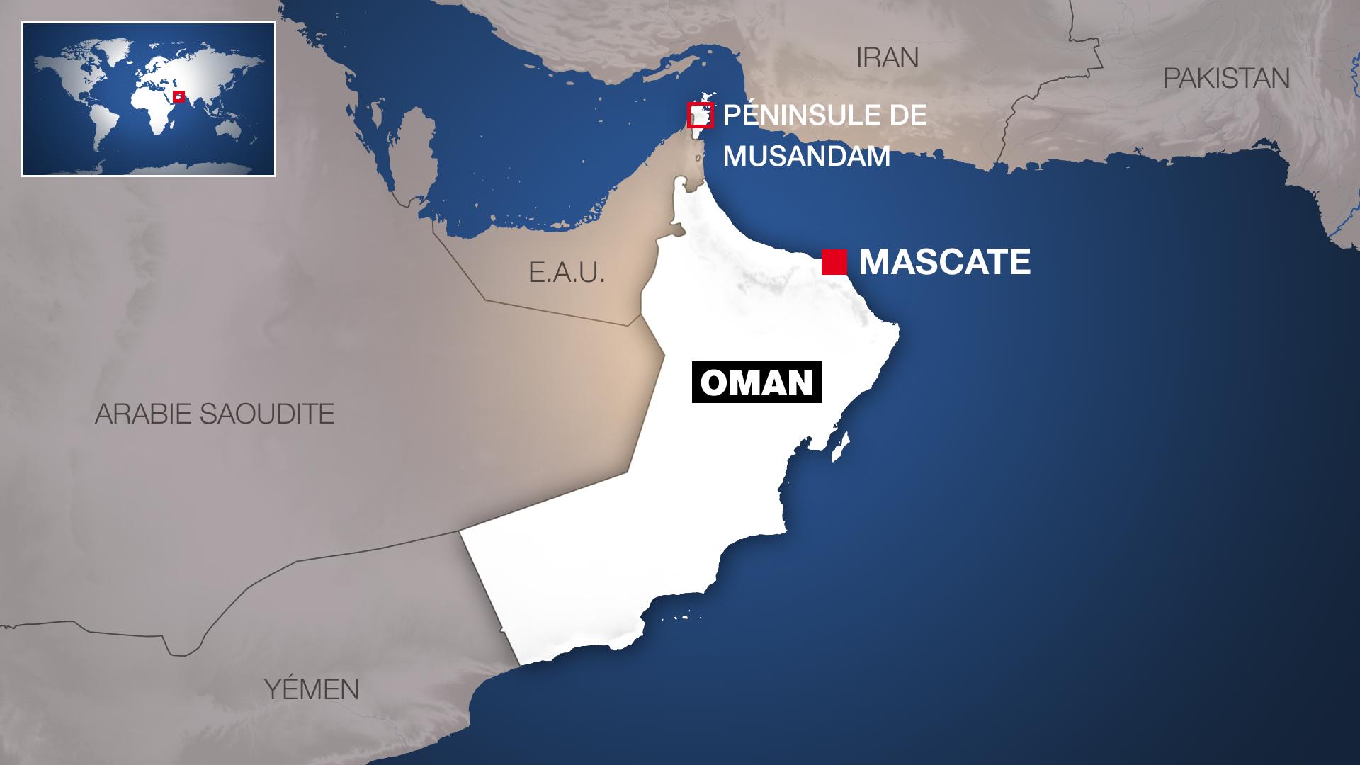 Oman a un statut exceptionnel dans le golfe Persique.
