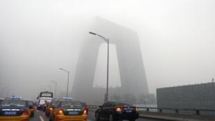 北京又陷霧霾