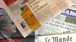 Capas dos jornais