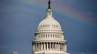 美國國會大廈.